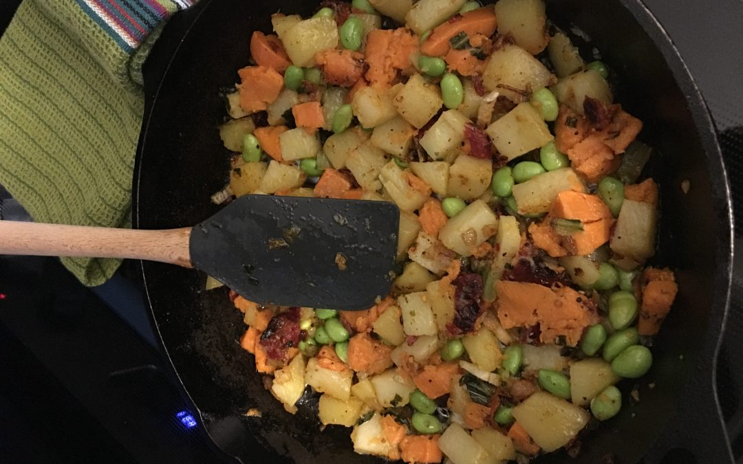 Mixed Potato Hash